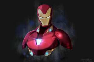 Iron Man Avengers Infinity War Artwork