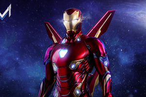Iron Man Avengers Infinity War Suit Artwork