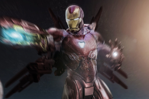 Iron Man Avengers Infinity War Suit
