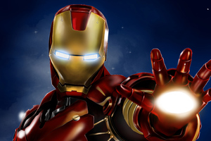 Iron Man Blaster 4k