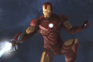 Iron Man Blaster 4k Artwork Wallpaper
