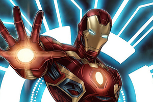 Iron Man Blaster New Wallpaper