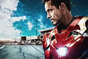 Iron Man Captain America Civil War 8k Wallpaper