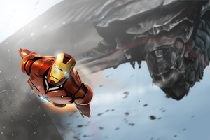 Iron Man Chittori Army Wallpaper
