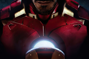 Iron Man Closeup Suit Wallpaper