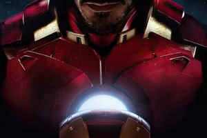Iron Man Closeup Suit