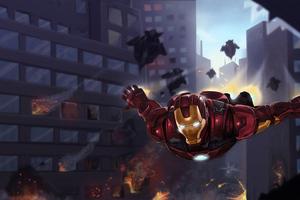 Iron Man Coming Wallpaper