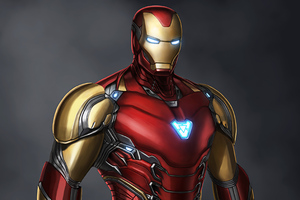 Iron Man Concept Art 4k