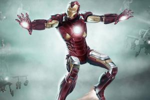 Iron Man Concept Art 5k Wallpaper