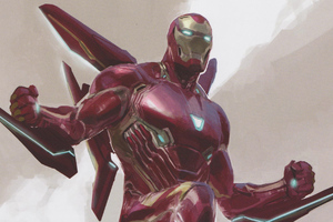 Iron Man Concept Artwork