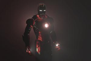 Iron Man Dark 4k Wallpaper