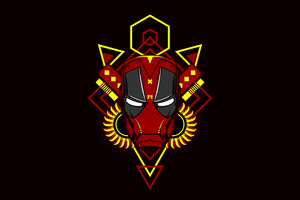 Iron Man Deadpool Version Wallpaper
