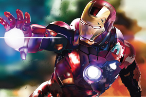 Iron Man Digital Art 4k
