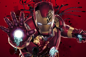 Iron Man Digital Arts New Wallpaper