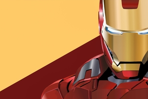 Iron Man Digital Artwork 4K