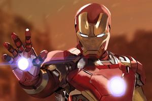 Iron Man Digital Artwork