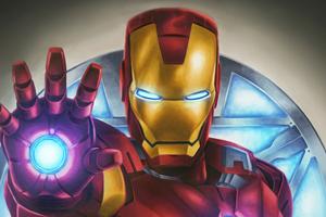 Iron Man Digital Wallpaper