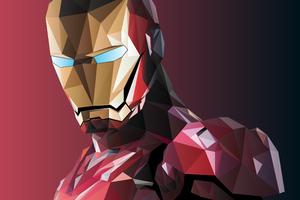 Iron Man Facets Wallpaper