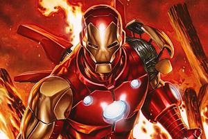 Iron Man Fan Artwork 4k