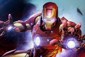 Iron Man Fan Artwork
