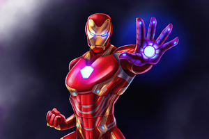 Iron Man Fan Made 4k Wallpaper