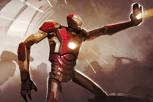 Iron Man Fan Made Art 2020