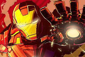 Iron Man Fan Made Art 4k Wallpaper