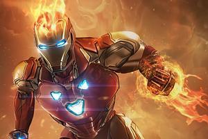 Iron Man Fire