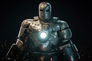 Iron Man First Suit 4k