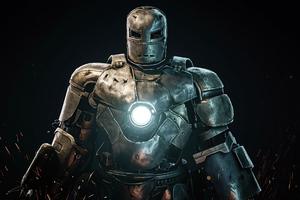 Iron Man First Suit 4k