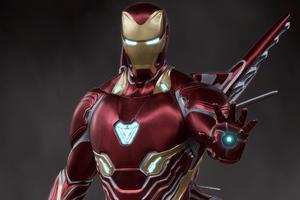 Iron Man Fly 2020 Wallpaper