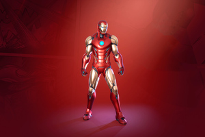 Iron Man Fortnite 2020 Wallpaper