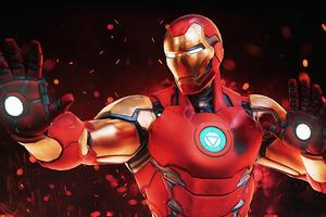 Iron Man Fortnite Wallpaper