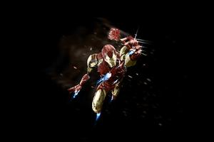Iron Man Giving Rose