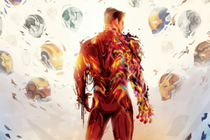 Iron Man Gone Wallpaper