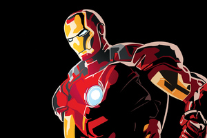 Iron Man Graphic Design