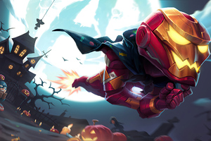 Iron Man Halloween Wallpaper