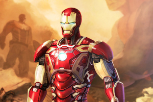 Iron Man Hd Art