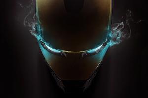 Iron Man Helmet 4k