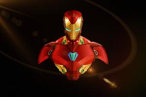 Iron Man Illustration Art