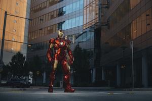 Iron Man In City