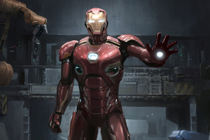 Iron Man In Making
