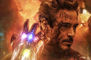 Iron Man Infinity Gauntlet Stones Wallpaper