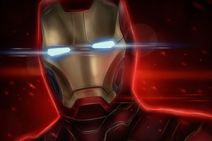 Iron Man Latest Art Wallpaper