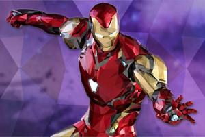 Iron Man Lowpoly