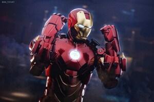 Iron Man Mark 4 Suit 5k