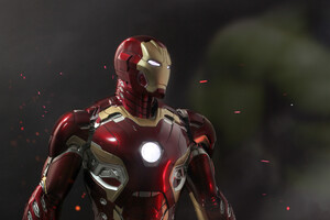 Iron Man Mark 45 Wallpaper