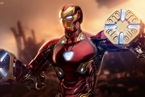 Iron Man Mark 45 Suit Wallpaper