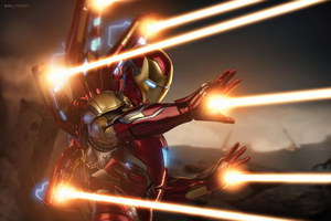 Iron Man Mark 85 4k Wallpaper