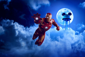 Iron Man Marvel Summer Of Super Heroes Disneyland Paris 10k Wallpaper